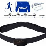 BerryKing Heartbeat Bluetooth & ANT+ per Garmin Wahoo Polar RUNTASTIC STRAVA ENDOMONDO TomTom Apple iPhone Android Chest Strap Frequenza cardiaca Monitor HRM Sensore de la marque BerryKing image 2 produit