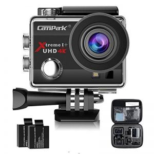 Campark ACT74 Action Cam 4K 16MP Wi-Fi Action Camera Impermeabile 30M con 2 Batterie Custodia Impermeabile e Kit di Accessori Compatibile con Gopro de la marque Campark image 0 produit