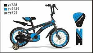 "Warrior 'ctbikes BMX Kids Bikes Blue/Black Available in Size 12 ""14"" 16 ""18 20"" de la marque Warrior image 0 produit"